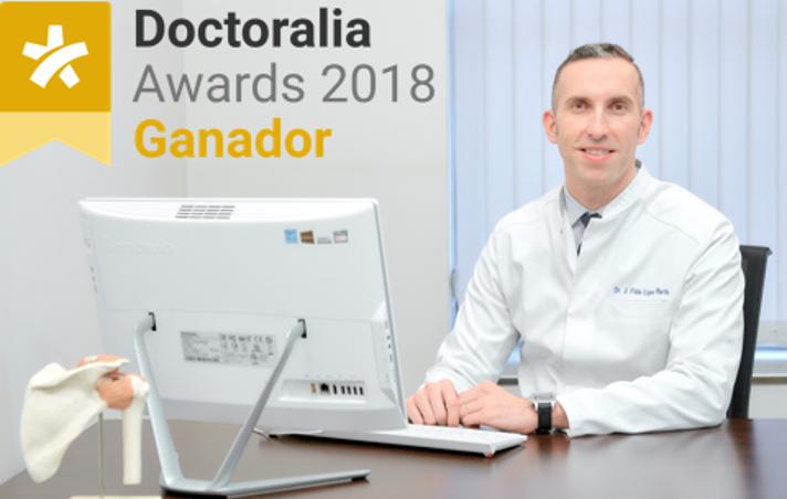 Félix López, traumatólogo y cirujano ortopédico mejor valorado de España